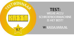 Test winnaar Kassa