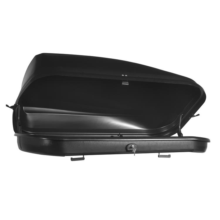 dachbox junior spazio 420 l schwarz autobox gep ckbox ebay. Black Bedroom Furniture Sets. Home Design Ideas