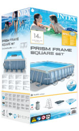 Intex Prism Frame pool verpakking
