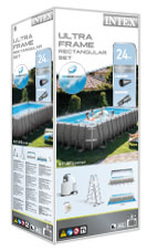 Intex ultra frame pool verpakking