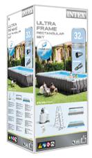 Intex ultra frame pool verpakking