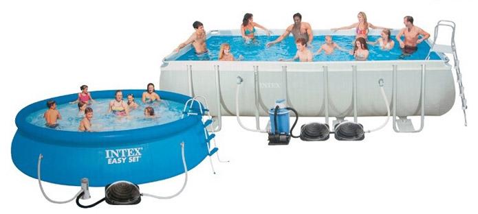 Zwembadverwarming zonne energie solar bol for Verwarming intex zwembad