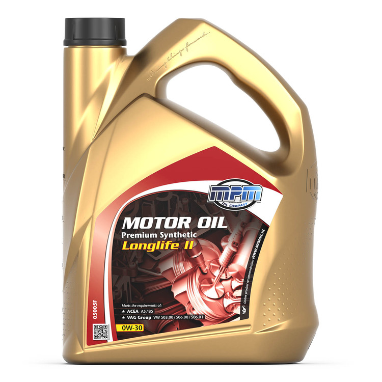 MPM 0W30 Premium Synthetic Longlife II 5 liter