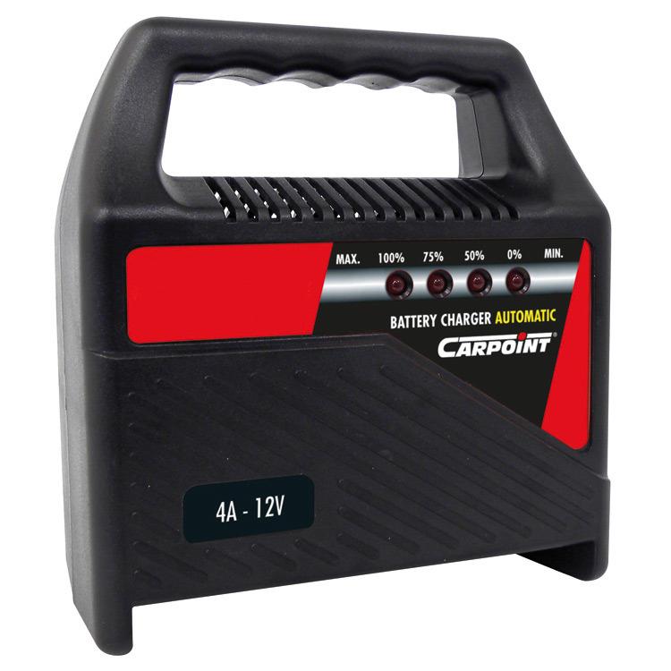 Acculader 4 Amp. 12V