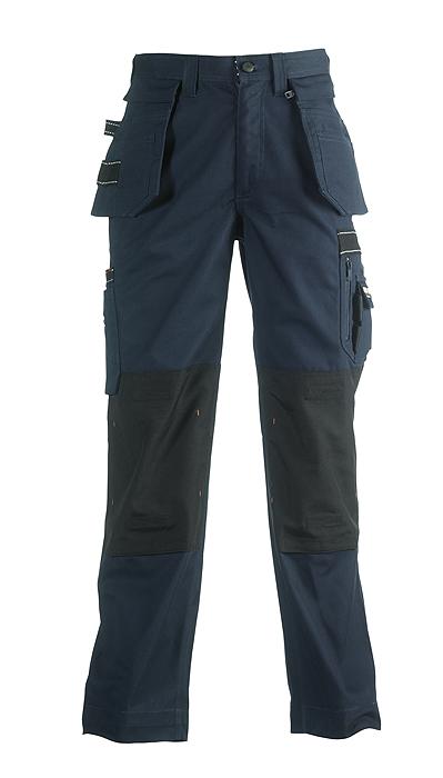 Herock Hercules multi pocket werkbroek met afritsbare spijkerzakken navy,donkerblauw 42