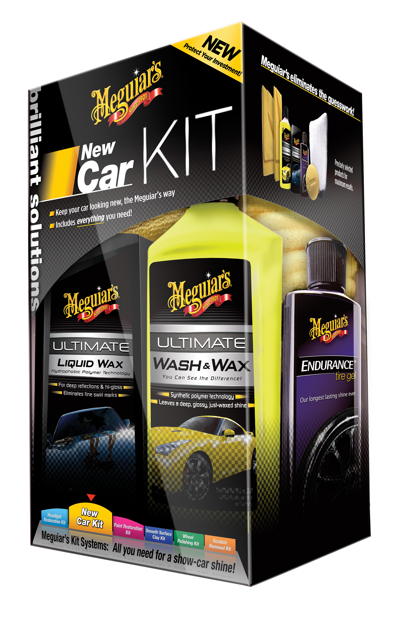 Meguiars New Car Kit G3200