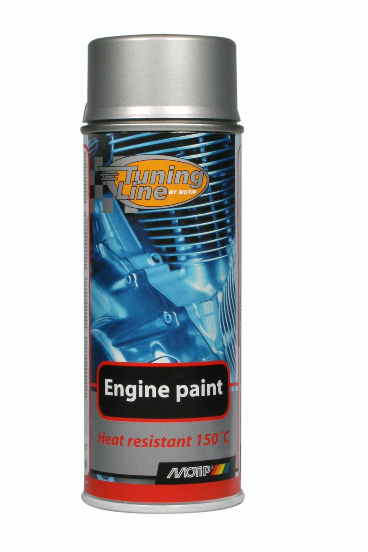 Motip engine paint aluminium 400ml