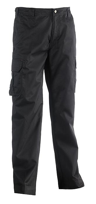 Herock Thor multi pocket waterafstotende werkbroek zwart 42