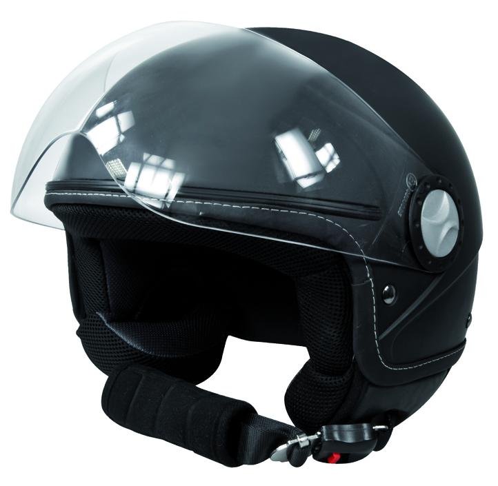 Jethelm zwart XL (61 62 cm)