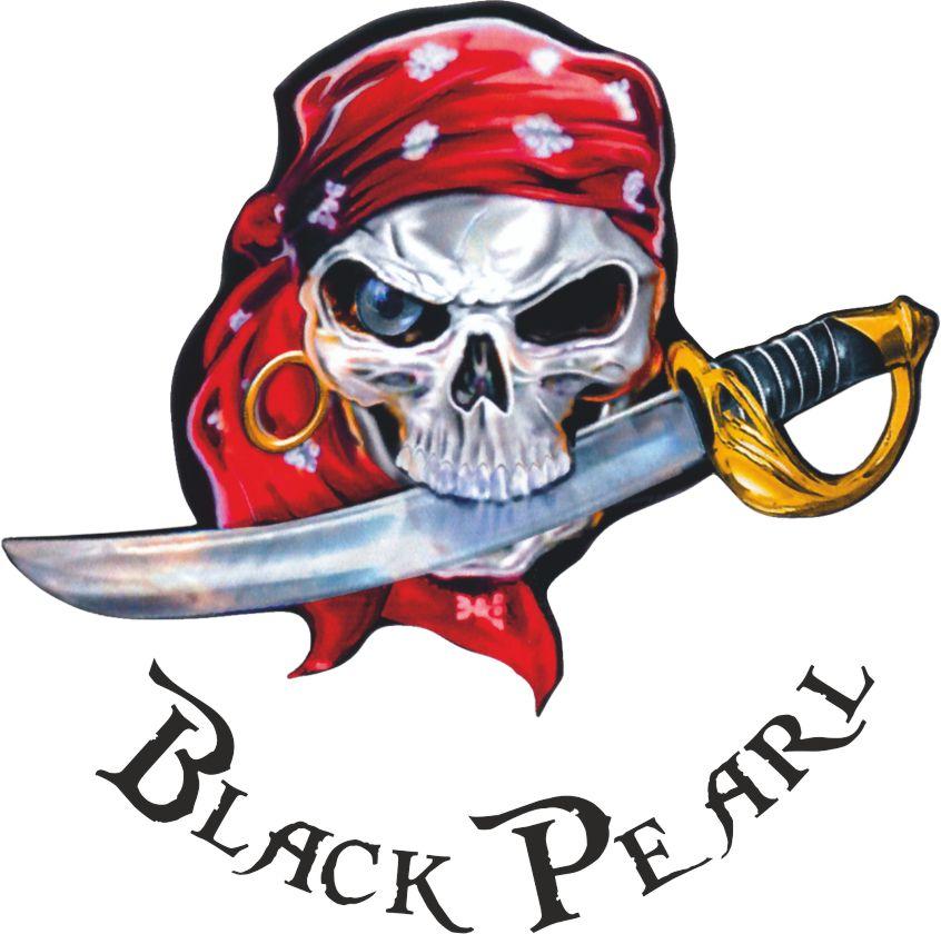 Piraat sticker