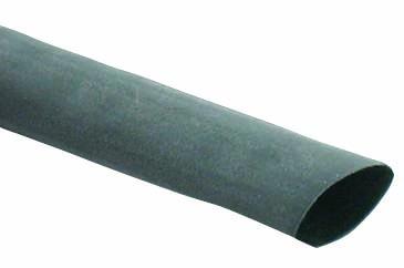 Krimpkous 12.7 6.3 zwart 120 cm