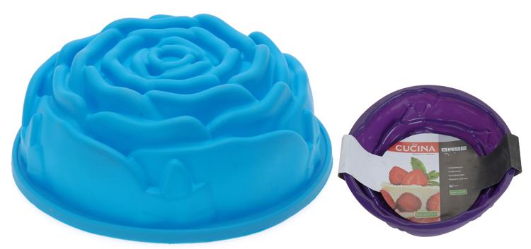 Cakevorm Silconen Bloemmotief