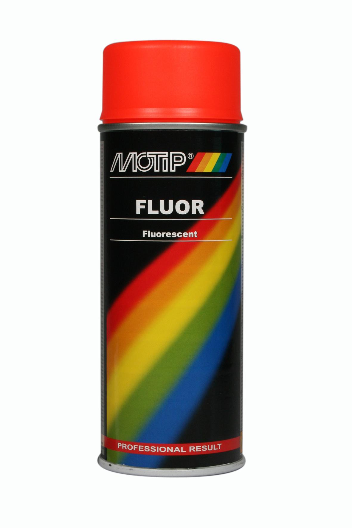 Motip fluor rood oranje