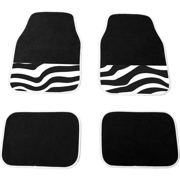 Mattenset Uni Zebra