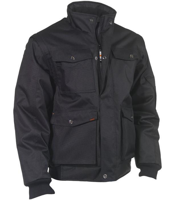 Herock Balder jas zwart XL