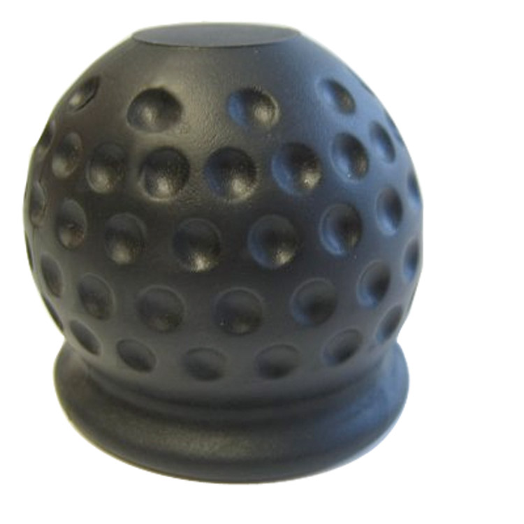 Trekhaakdop Golfbal zwart