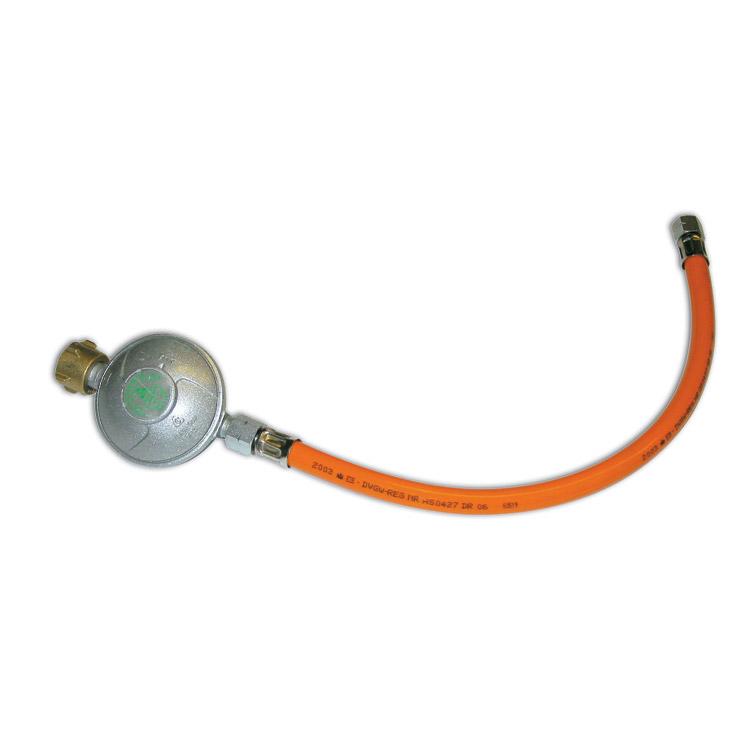 Weber Gasdrukregelaar Met 60 cm slang voor Weber Q 100 en Q 120
