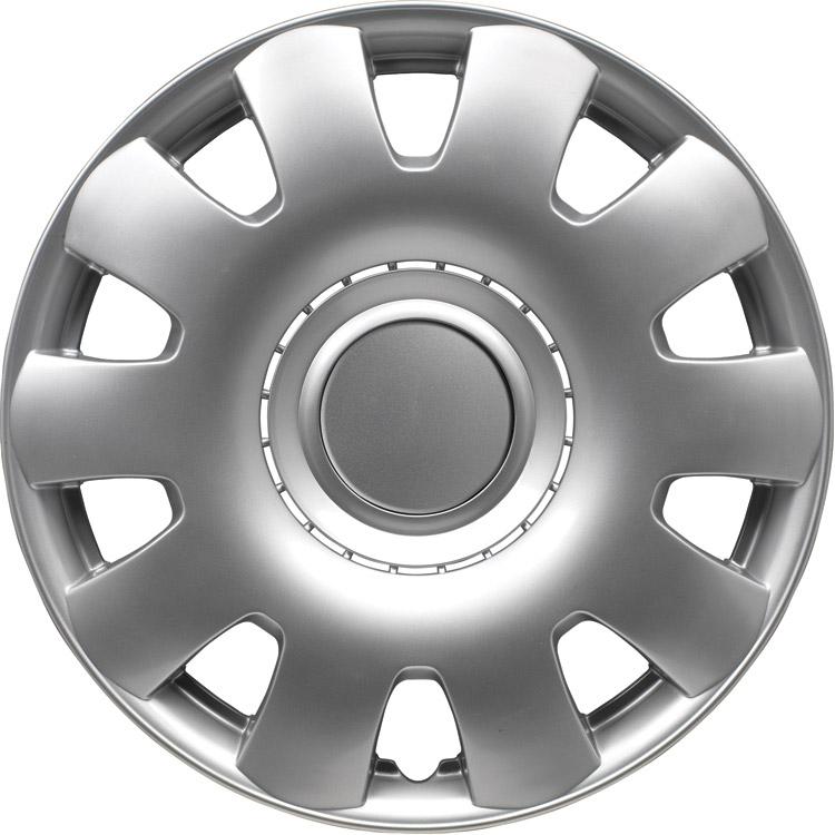 Georgia Silver 14 inch wieldoppen