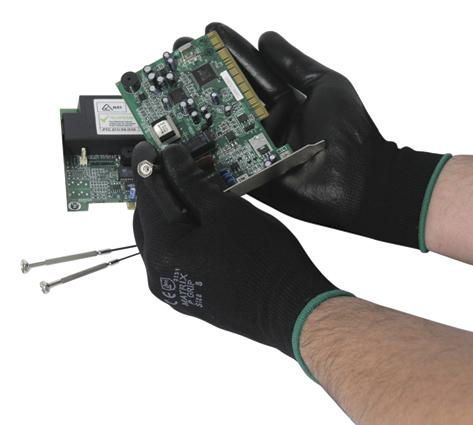 Herock Black Grip handschoenen 8