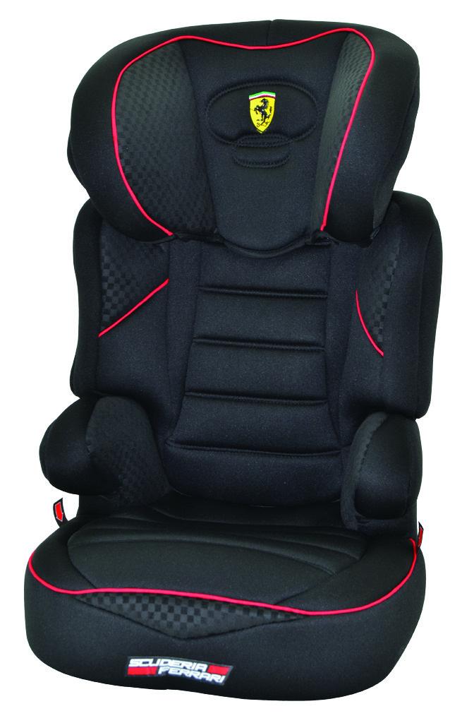Autostoel Ferrari Befix SP Zwart 2 3