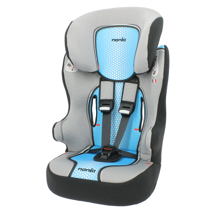 Autostoel Nania First Racer Pop Blue 1-2-3