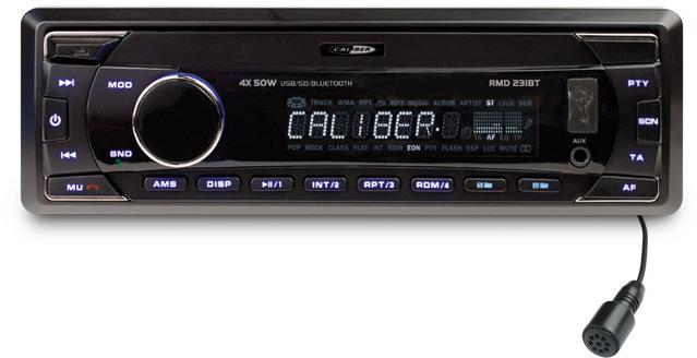 Caliber RMD 231BT autoradio