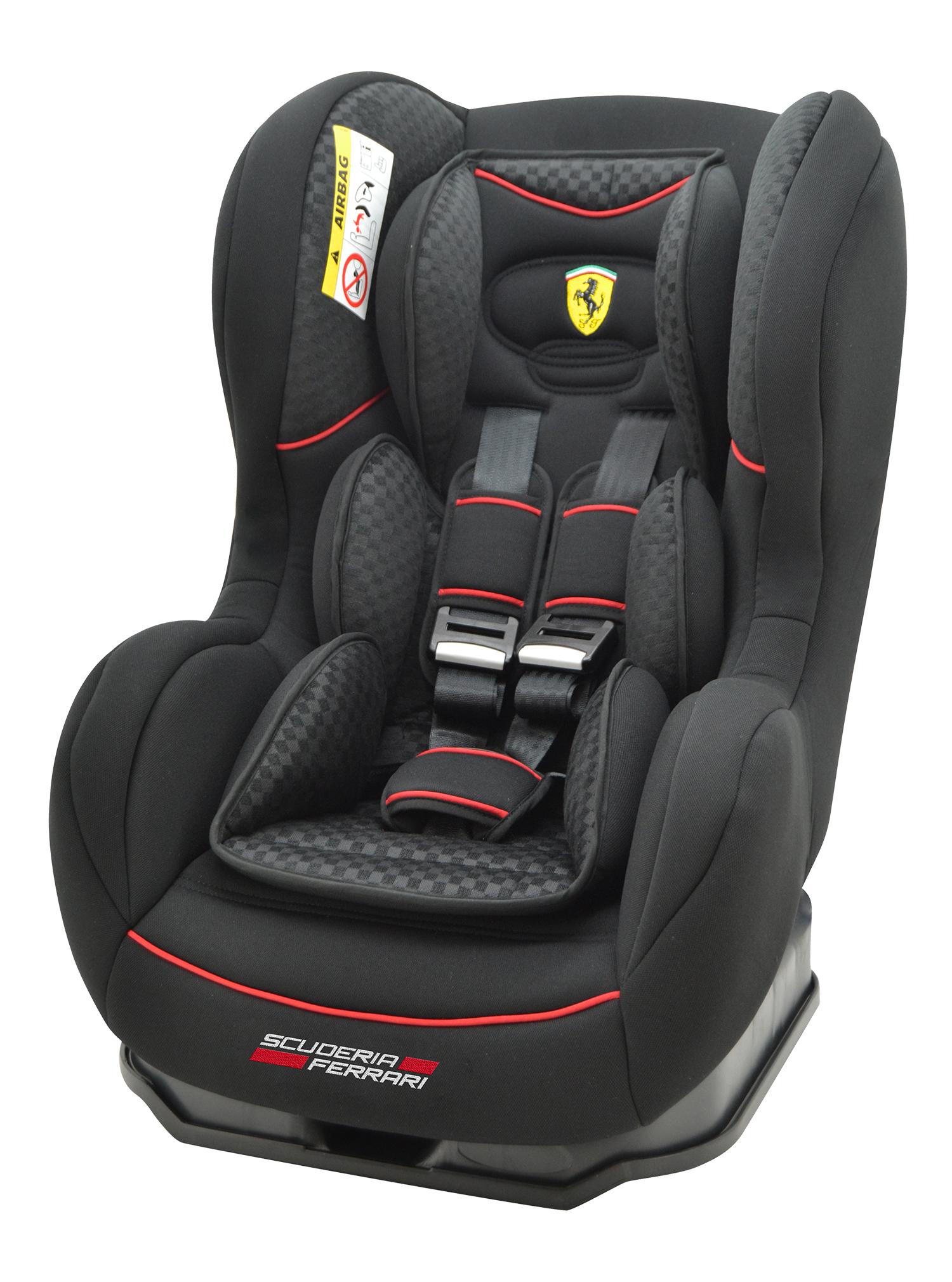 Autostoel Ferrari Cosmo SP Black 0-1