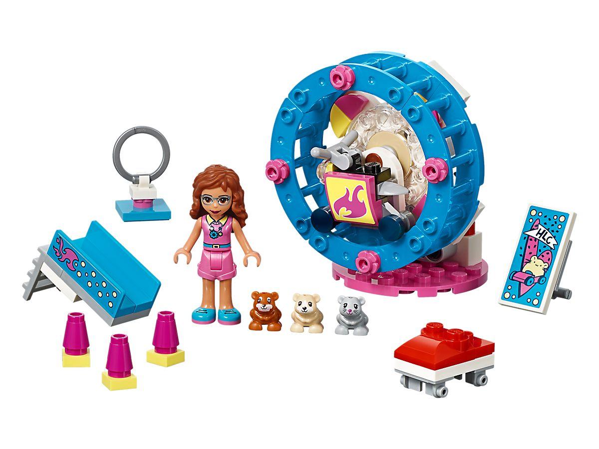 LEGO Friends Olivia's Hamsterspeelplaats 41383