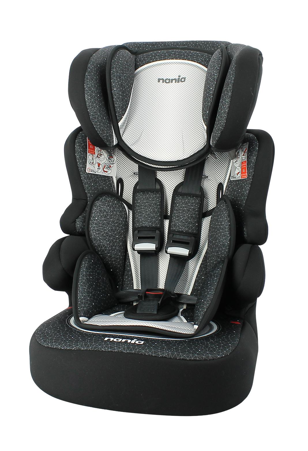 Autostoel Nania Beline SP Skyline Black 1 2 3