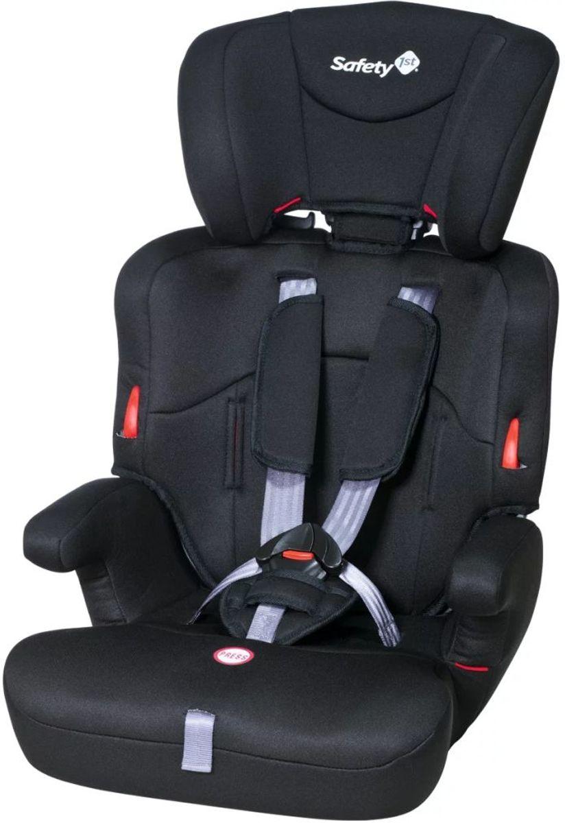 Autostoel Safety 1st Ever Safe Full Black 1 2 3