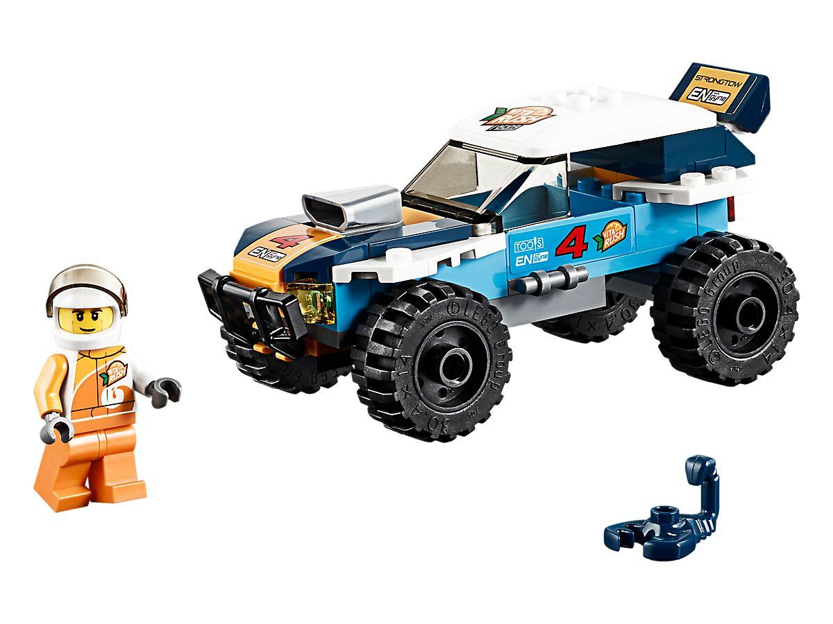 LEGO City Woestijn Rallywagen 60218