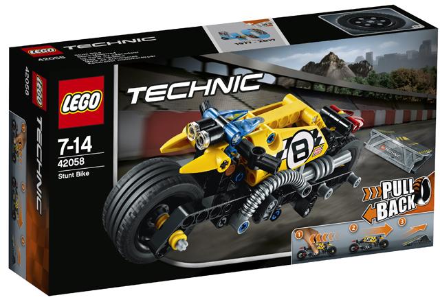 Lego Technic Stuntmotor
