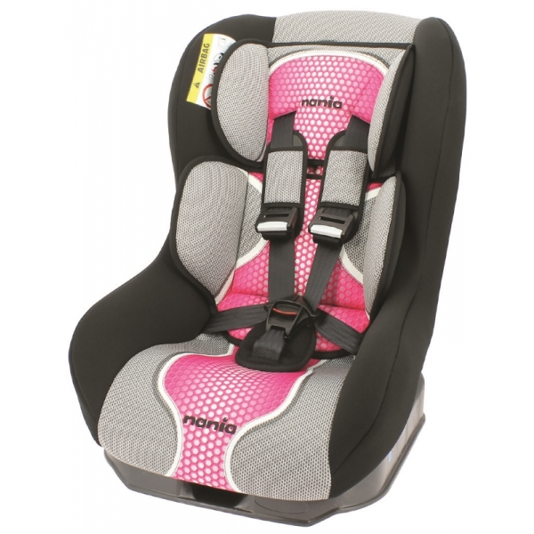 Autostoel Nania First Driver Pop Pink 0 1