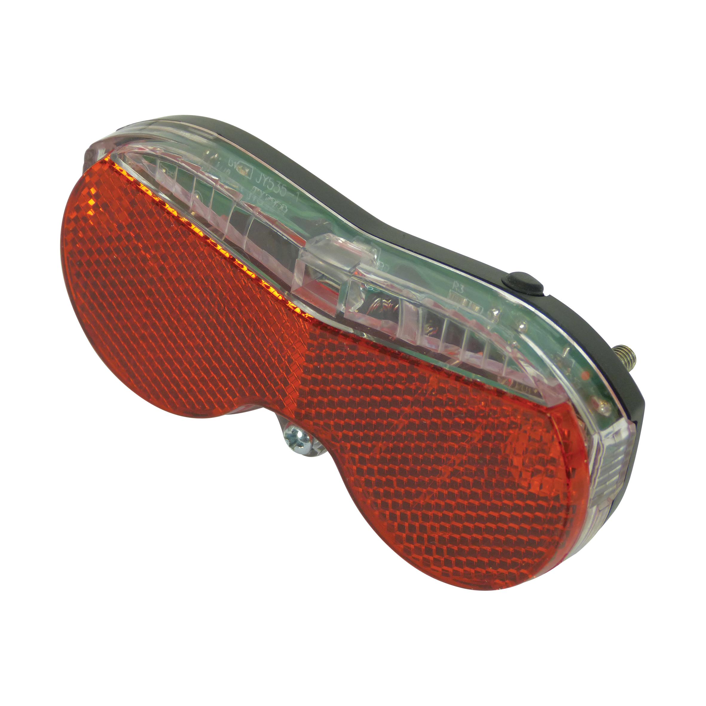 Achterlicht 3 LED S met reflector