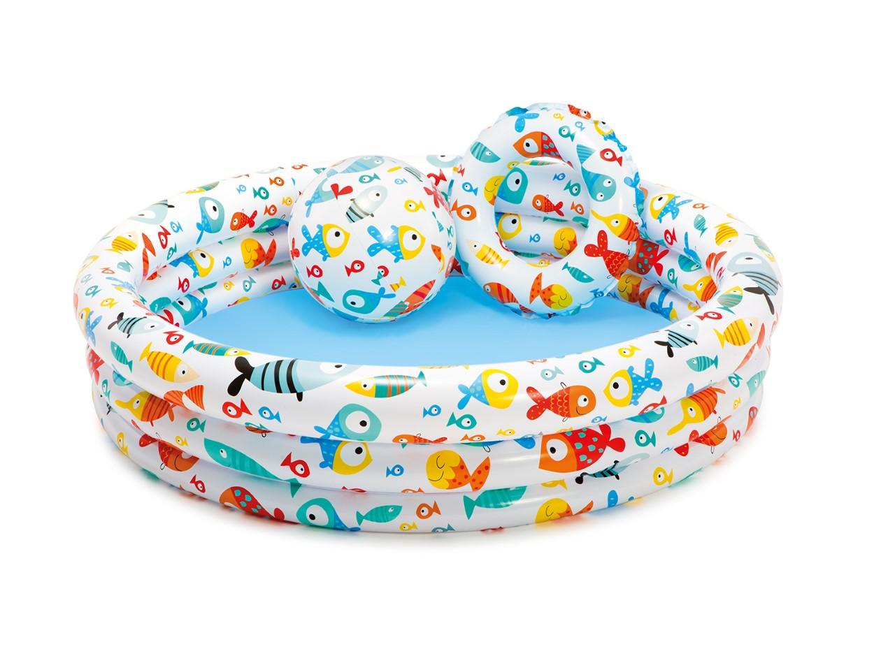 Intex Kinderzwembad Fishbowl set