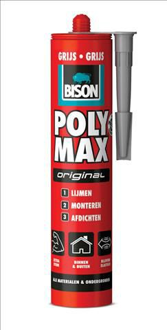 Bison-Poly-Max-Original-grijs-425gram-
