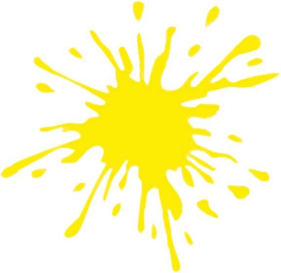 Splash-geel-sticker