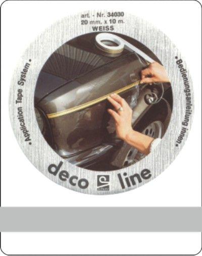 Bies-zilver-7mm-sticker