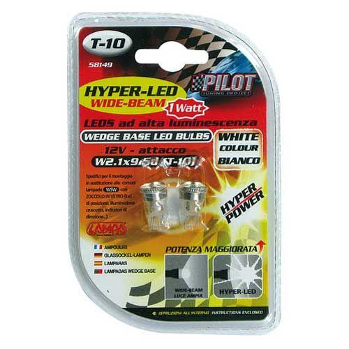 Verlichting-T10-lamp-1x-SMD-12V-wit-WB-Hyper-LED