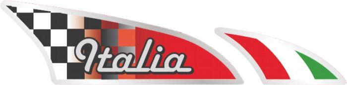 Italiaanse-vlag-sticker
