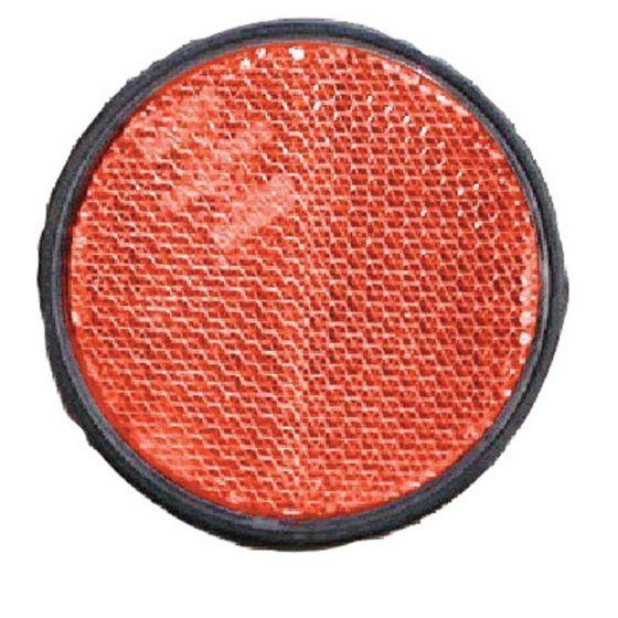 Reflector-60mm-zelfklevend-rood