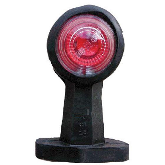 Breedtelicht-recht-120mm-rood/wit