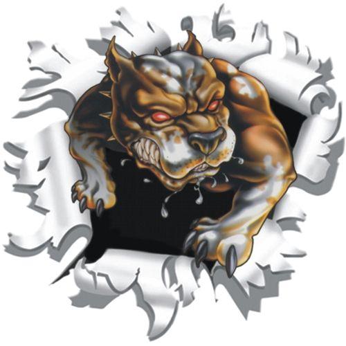 Hond-uit-muur-sticker-9x9