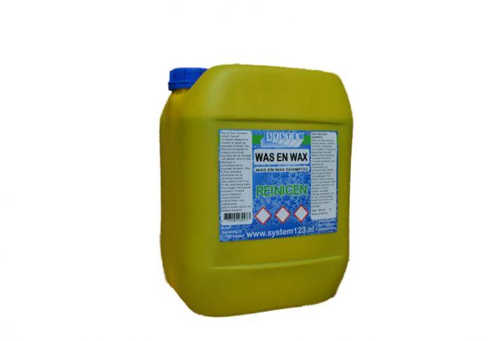 System-was-&-wax-shampoo-10-liter