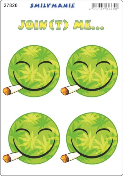 Smiley-joint-me...-sticker