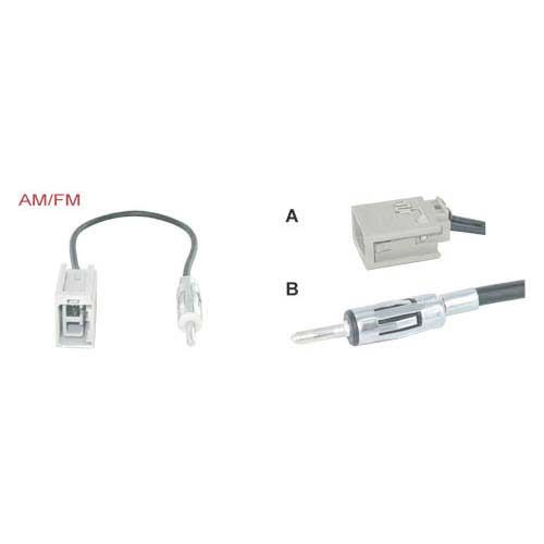 Antenne-adapter-Volvo-S80-Din