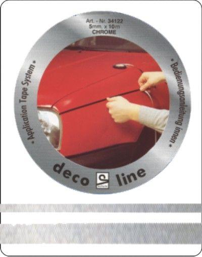 Striping-chroom-12mm-sticker