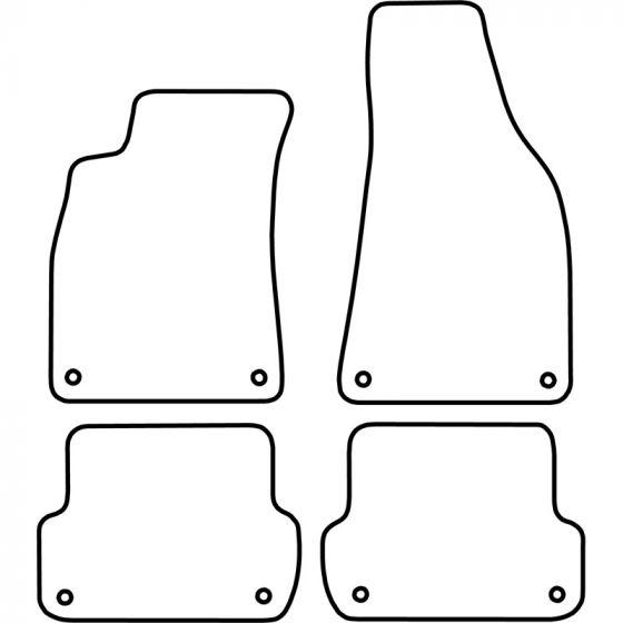 Automatten-Audi-A4-2001-2004