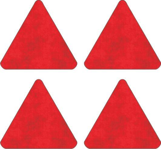 Reflecterende-driehoek-sticker