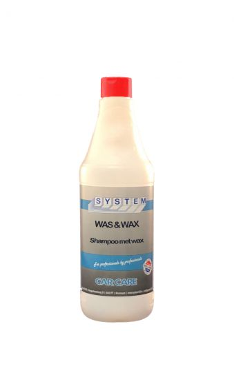 System-was-&-wax-shampoo-